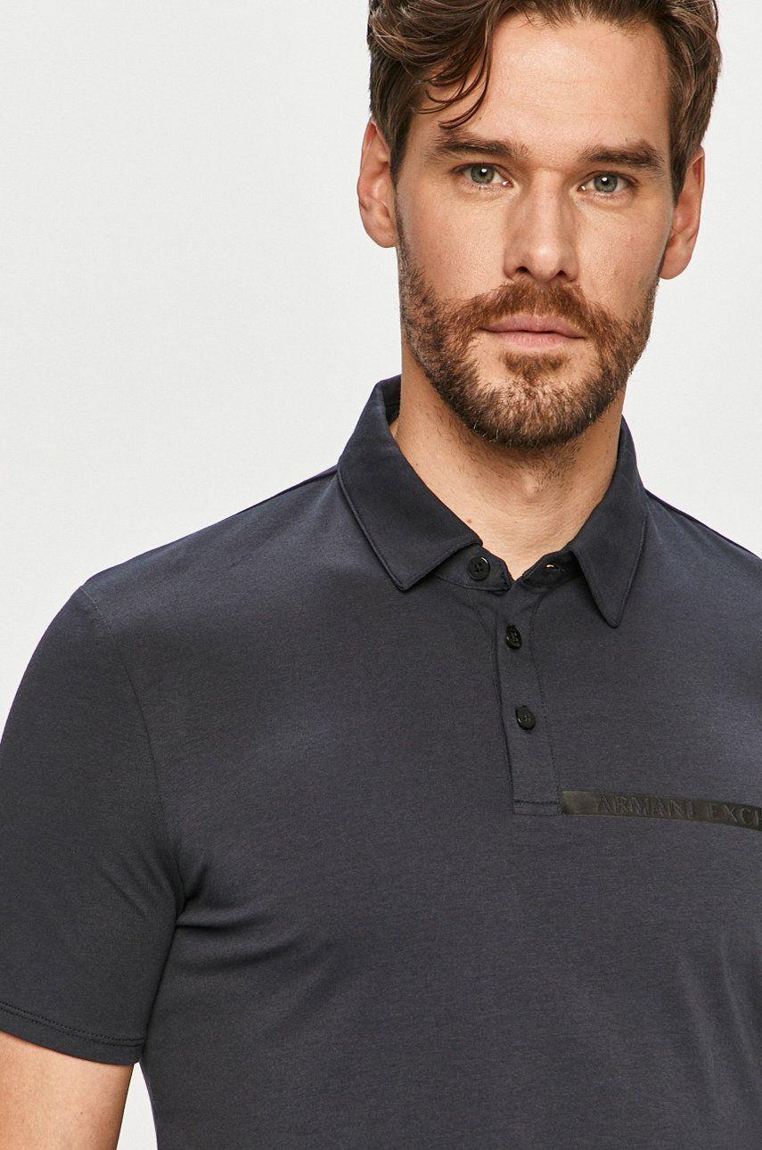 Armani Exchange - Tricou Polo imagine