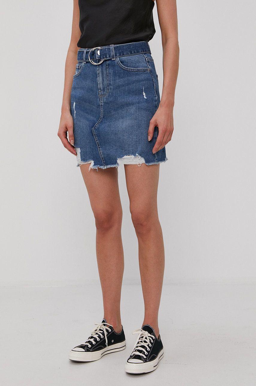 Pieces - Fusta jeans