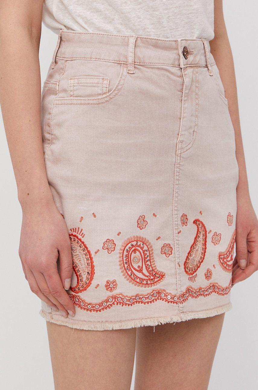 Desigual - Fusta jeans