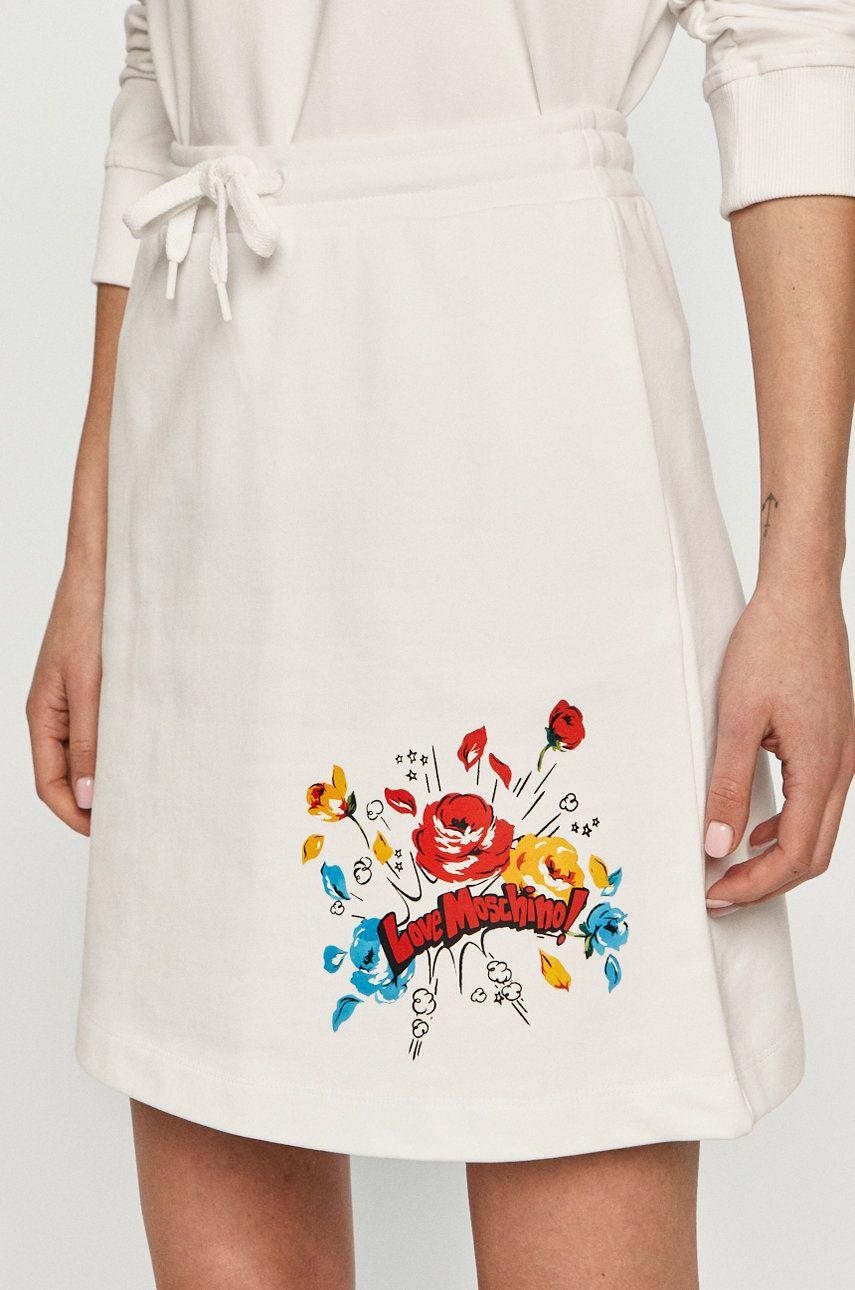 Love Moschino - Fusta answear.ro