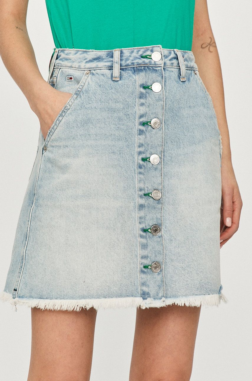 Tommy Jeans - Fusta jeans de la Tommy Jeans