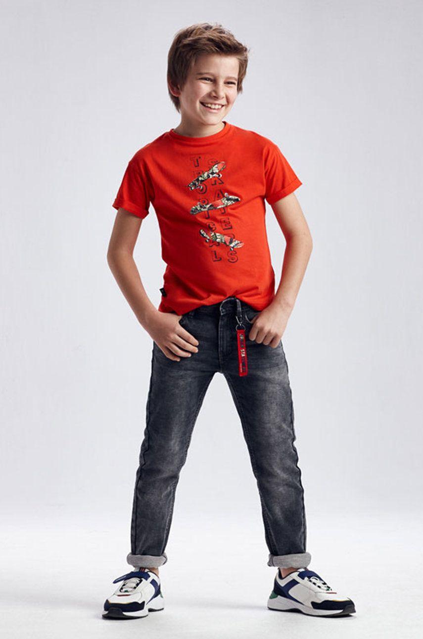 Mayoral - Jeans copii imagine answear.ro 2021