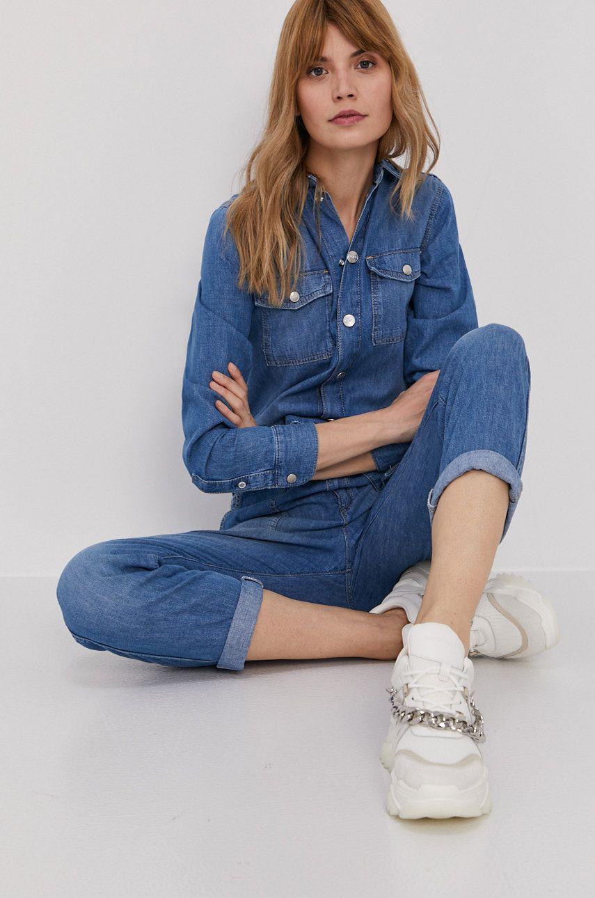 Pepe Jeans - Salopeta jeans Chleo Archive