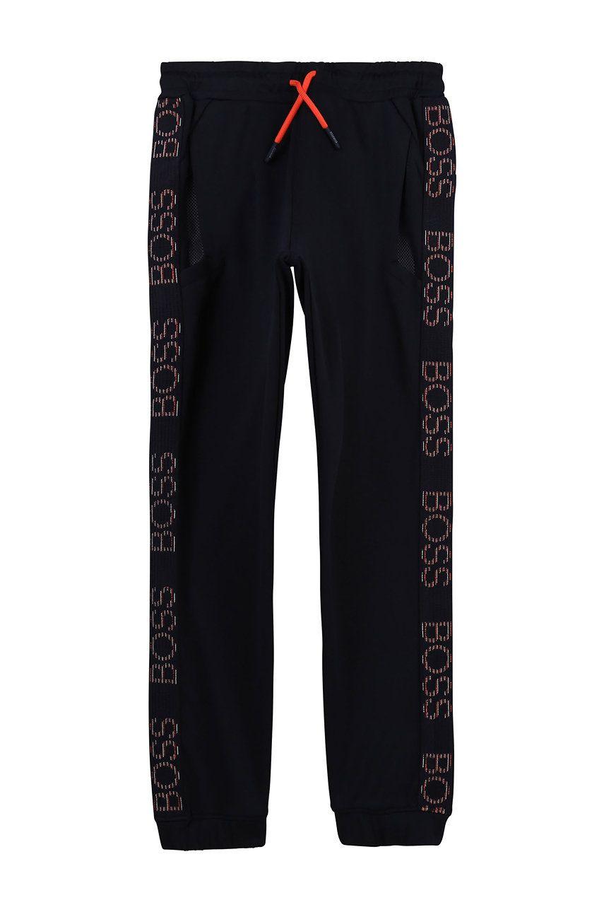 Boss - Pantaloni copii 114-150 cm imagine answear.ro