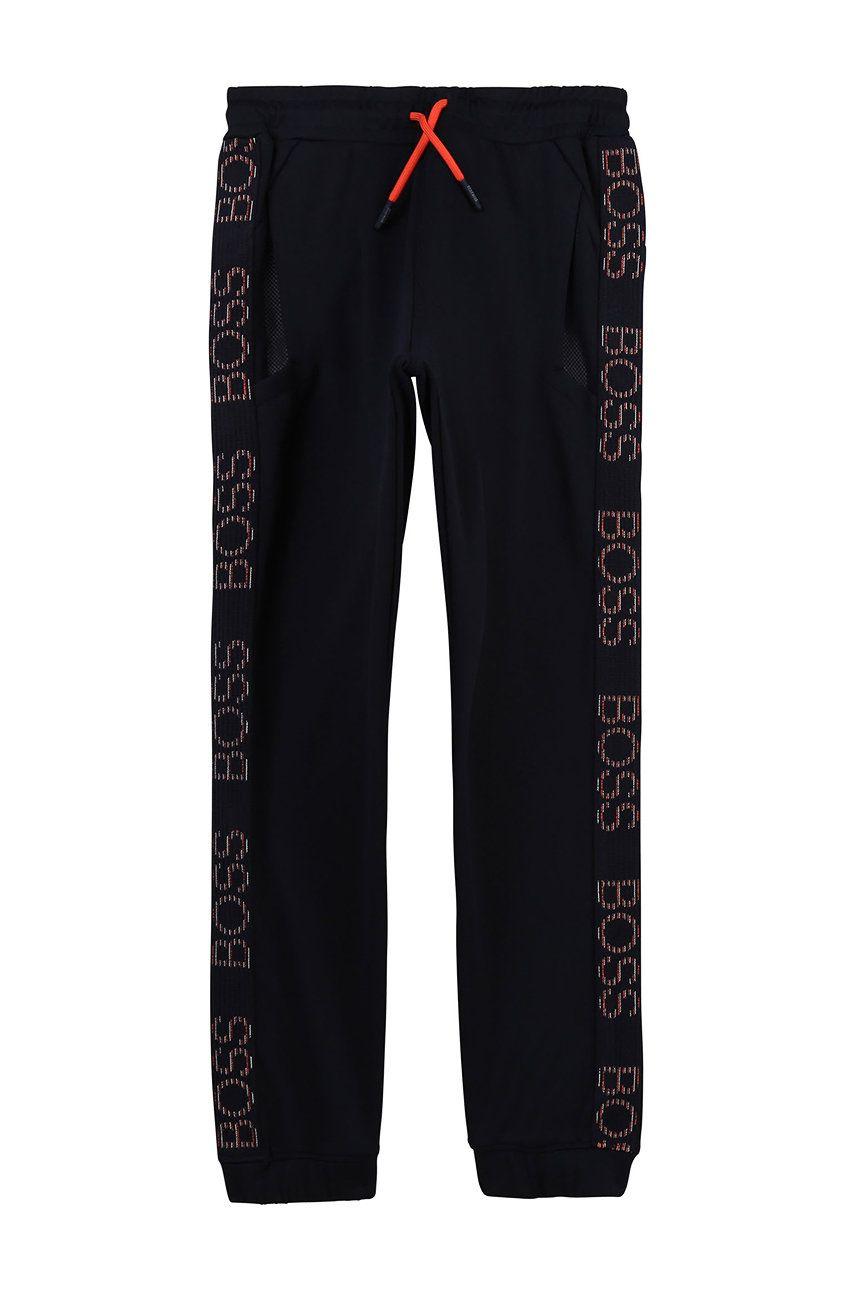 Boss - Pantaloni copii 162-174 cm imagine answear.ro