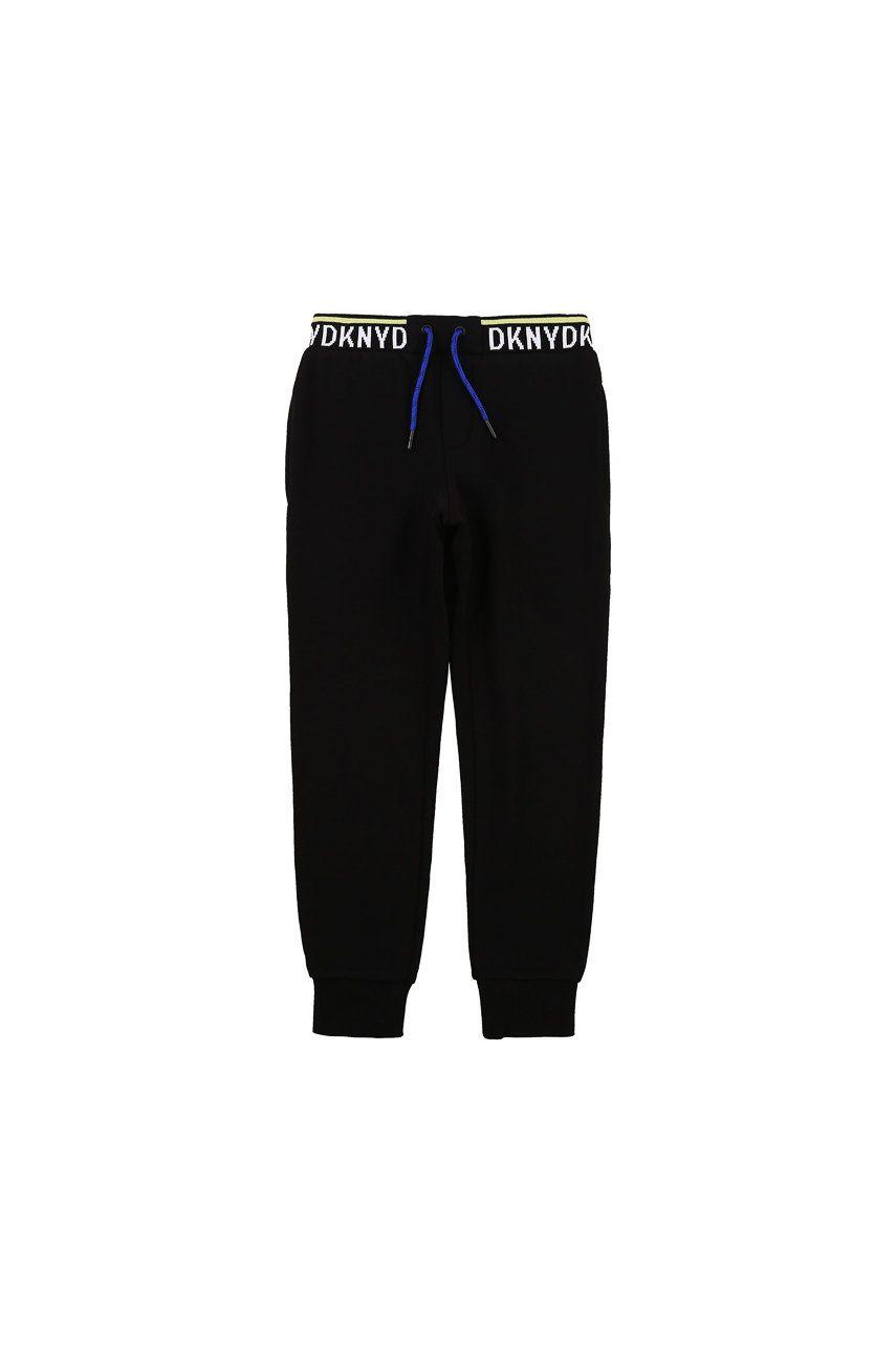 Dkny - Pantaloni copii 114-150 cm imagine answear.ro