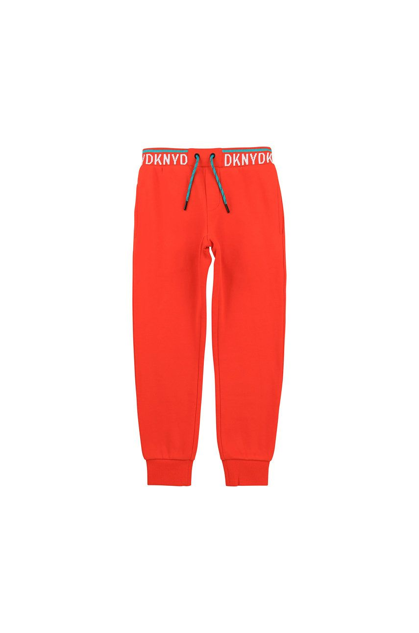 Dkny - Pantaloni copii 102-108 cm imagine answear.ro