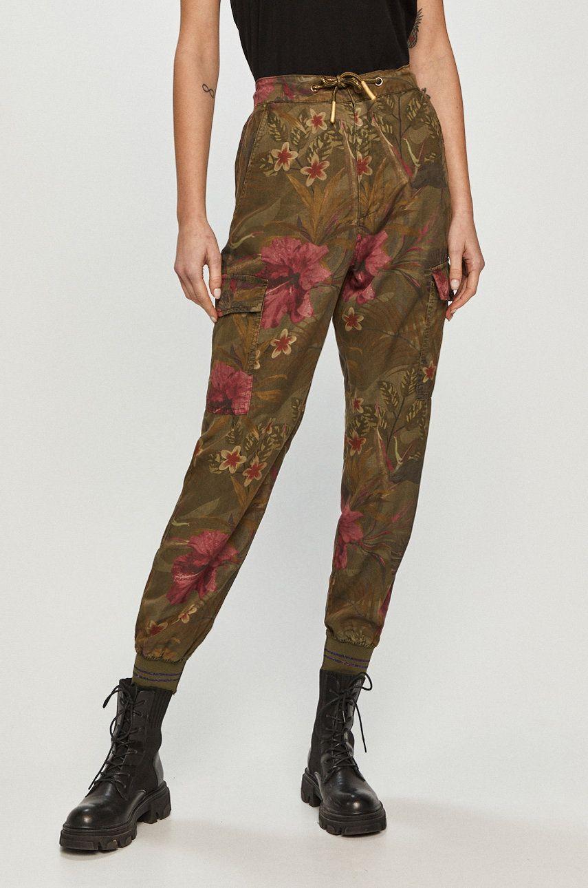 Desigual - Pantaloni answear.ro