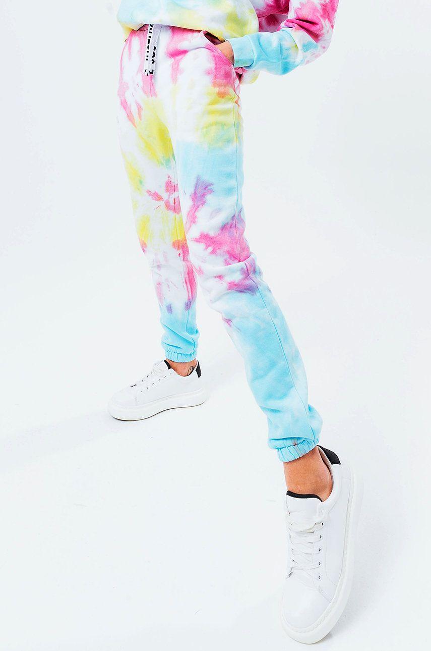 Hype - Pantaloni TIE DYE