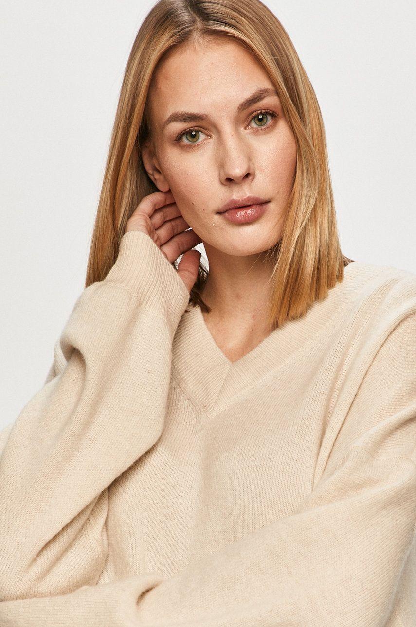 Samsoe Samsoe - Pulover de lana Amarista imagine