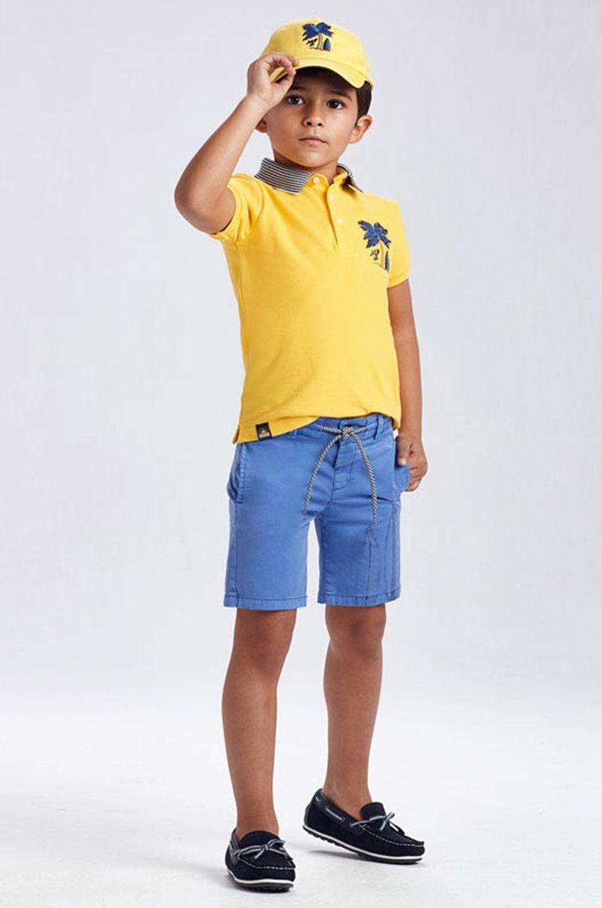 Mayoral - Pantaloni scurti copii 92-134 cm answear.ro
