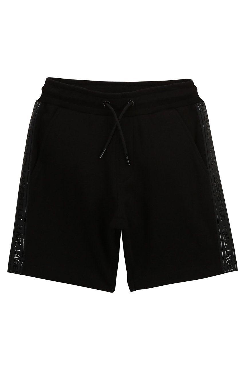 Karl Lagerfeld - Pantaloni scurti copii imagine answear.ro 2021