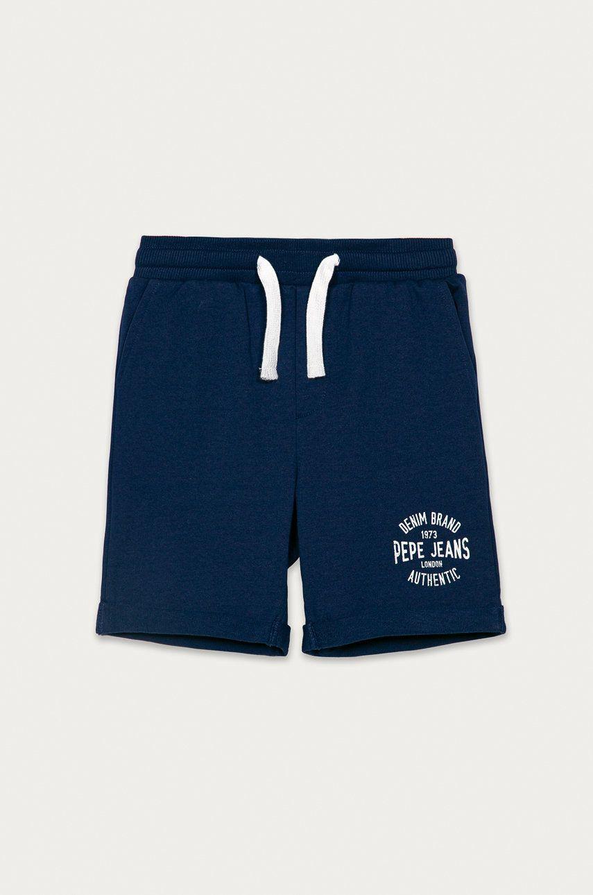 Pepe Jeans - Pantaloni scurti copii Charlie 128-178 cm answear.ro