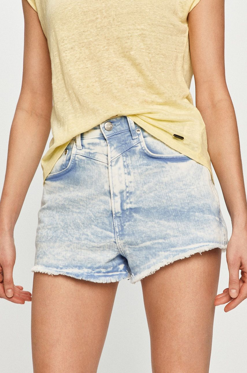 Pepe Jeans - Pantaloni scurti jeans Rachel