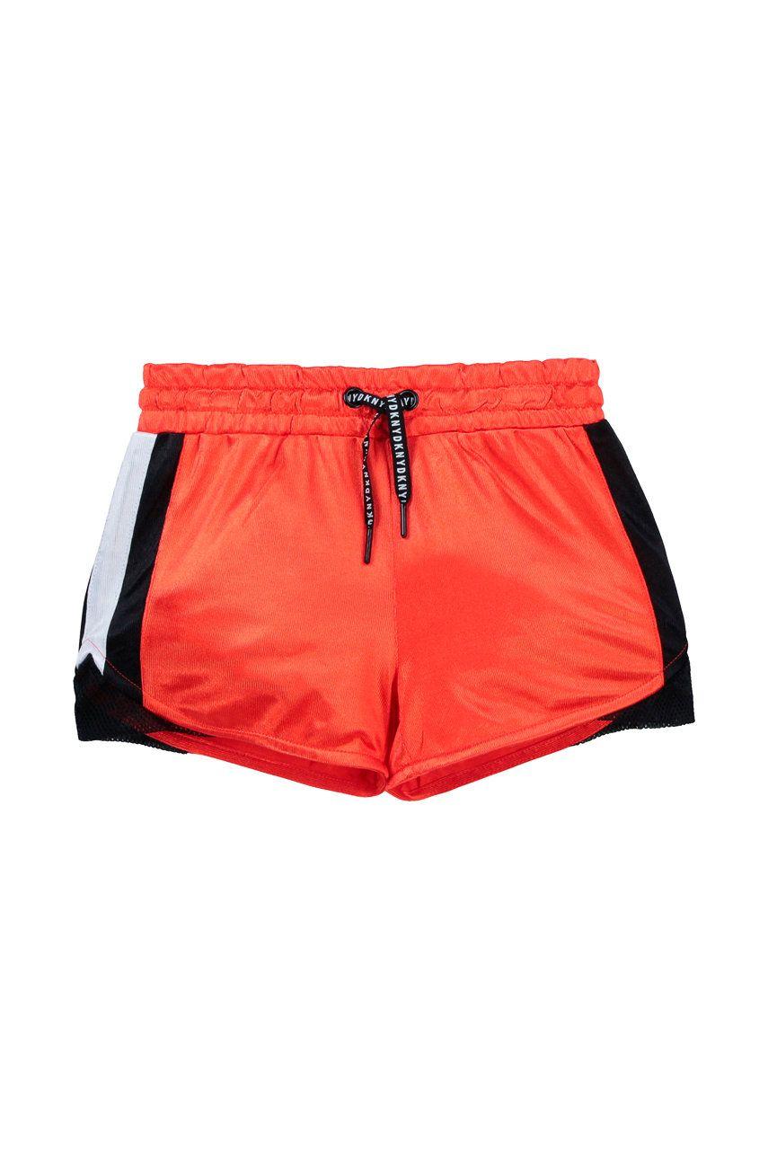 Dkny - Pantaloni scurti copii imagine answear.ro 2021