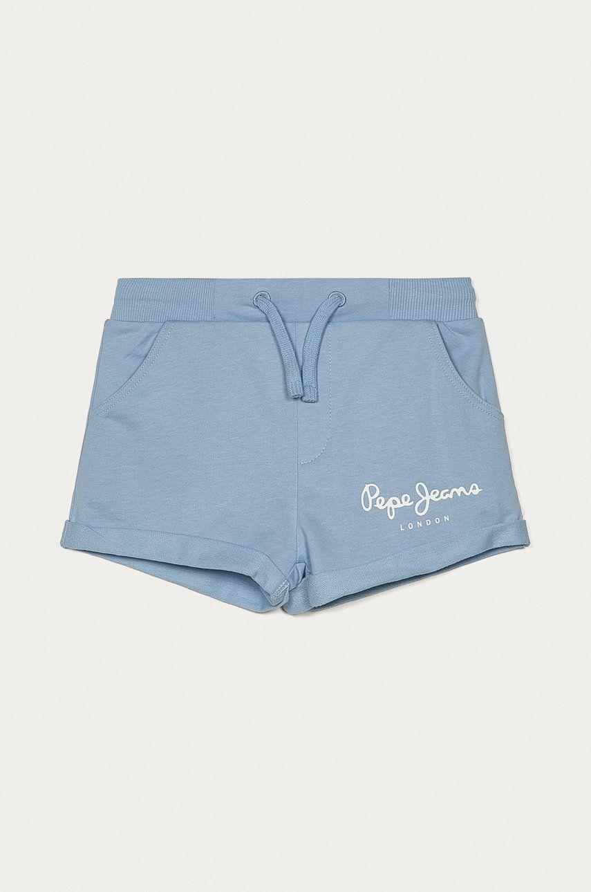 Pepe Jeans - Pantaloni scurti copii Rosemary 128-180 cm answear.ro