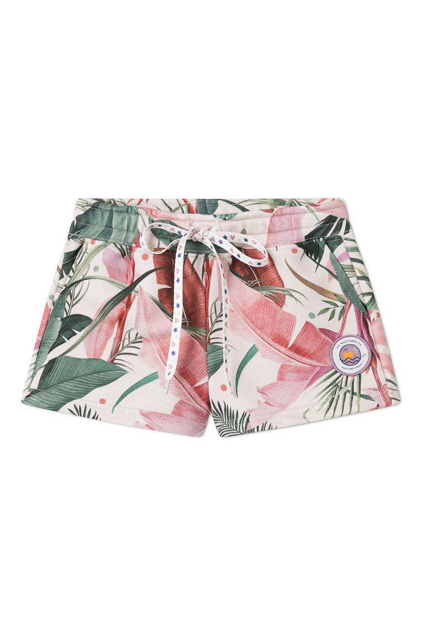 Femi Stories - Pantaloni scurti copii Missy 116-158 cm answear.ro