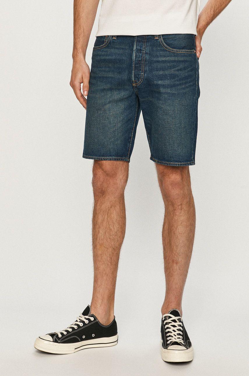Levi's - Pantaloni scurti jeans imagine answear.ro 2021