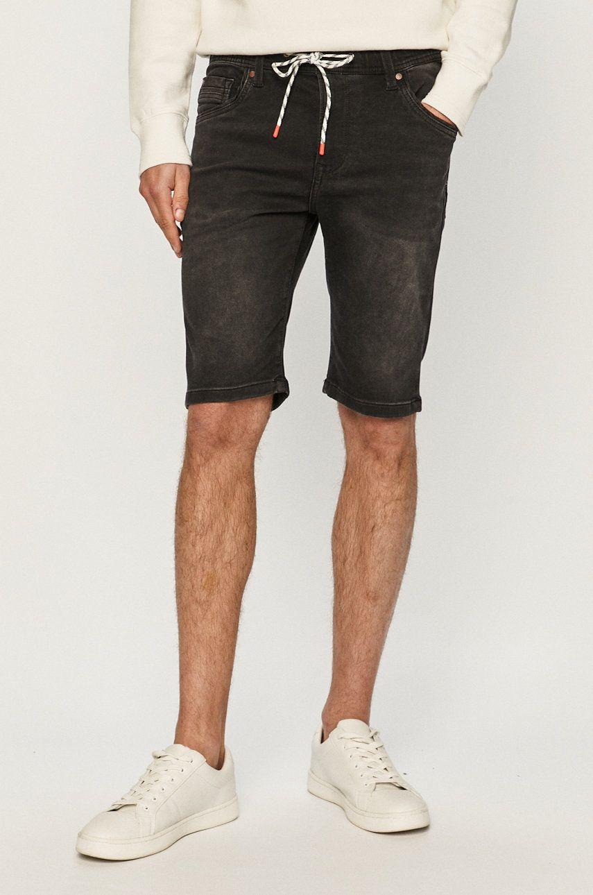 Pepe Jeans - Pantaloni scurti jeans Jagger imagine answear.ro 2021