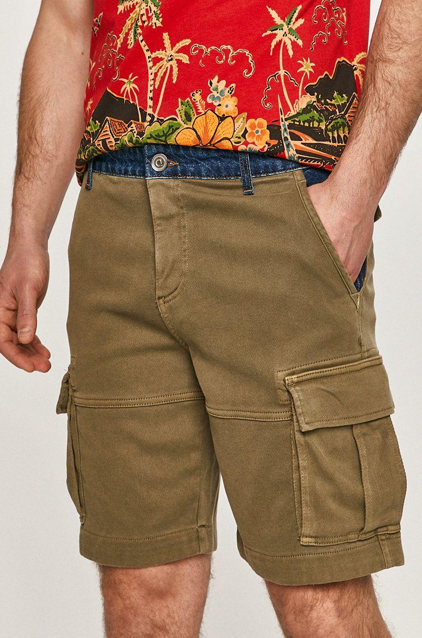 Desigual - Pantaloni scurti imagine answear.ro 2021