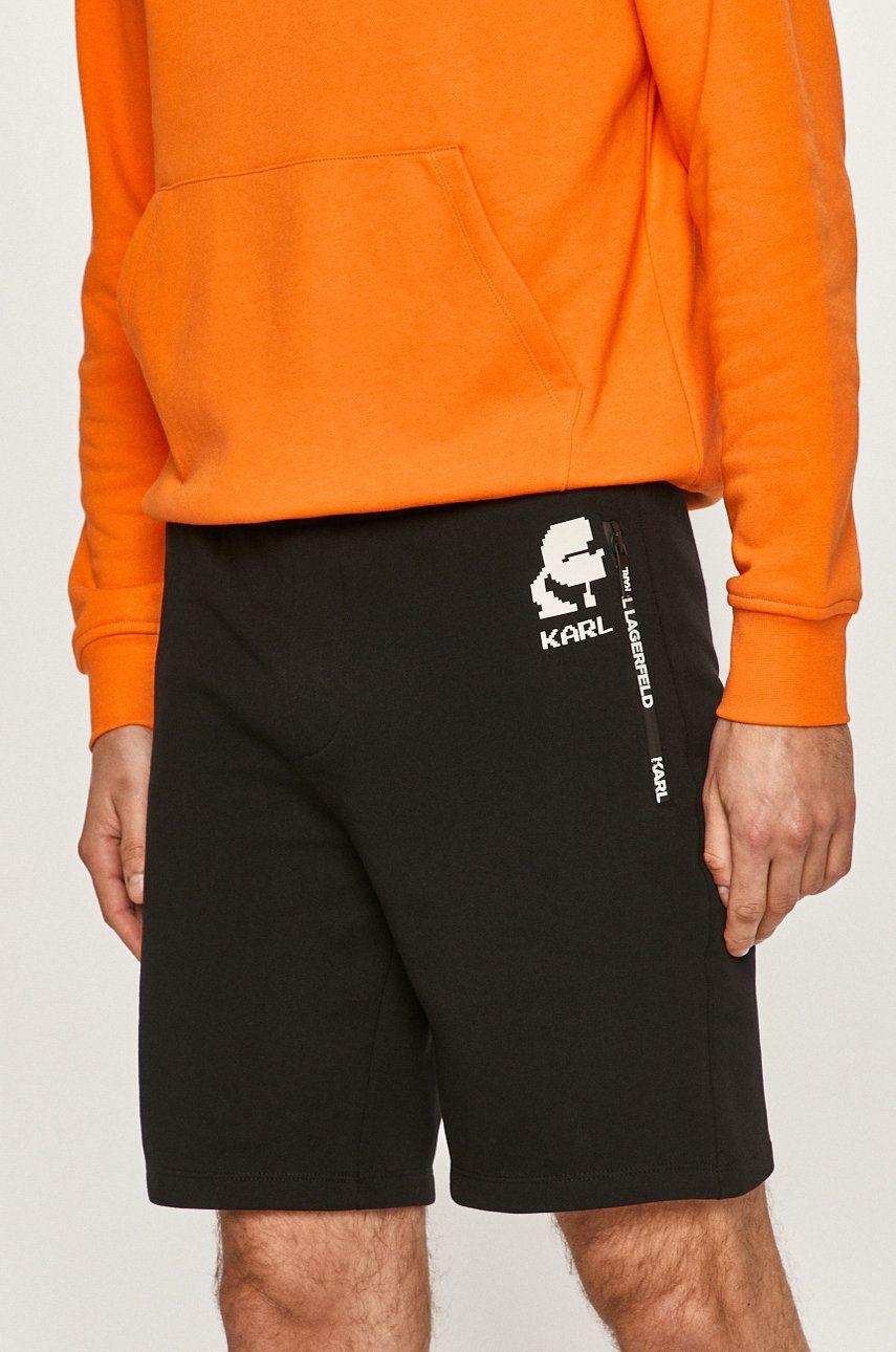 Karl Lagerfeld - Pantaloni scurti imagine answear.ro 2021