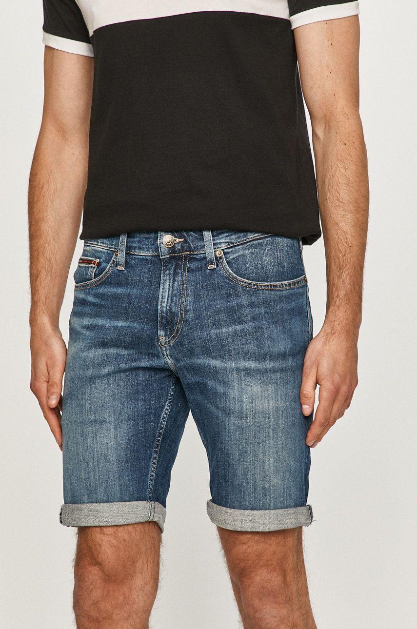Tommy Jeans - Pantaloni scurti jeans imagine answear.ro 2021