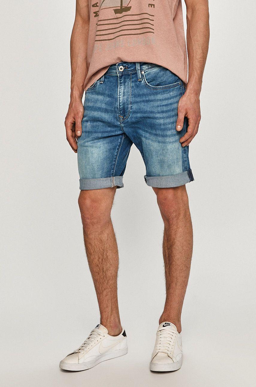 Pepe Jeans - Pantaloni scurti jeans Stanley de la Pepe Jeans