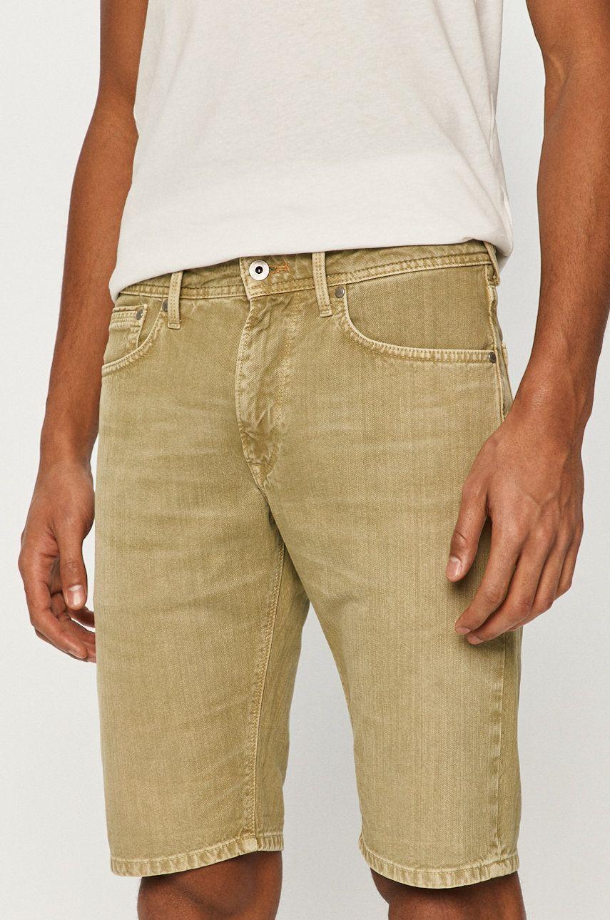 Pepe Jeans - Pantaloni scurti Stanley de la Pepe Jeans