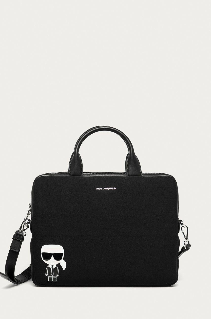 Karl Lagerfeld - Geanta laptop answear.ro