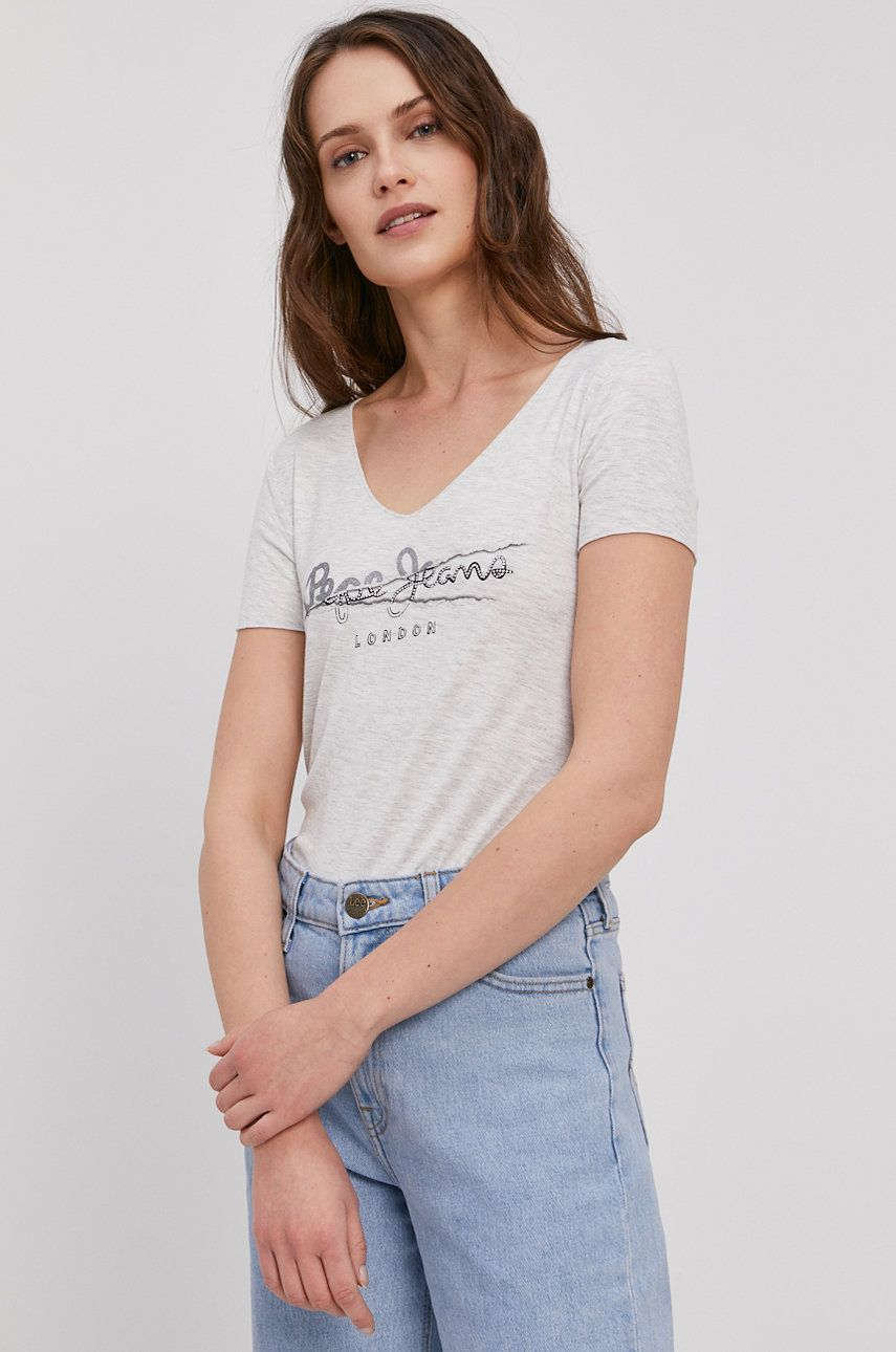Pepe Jeans - Tricou Charlotte