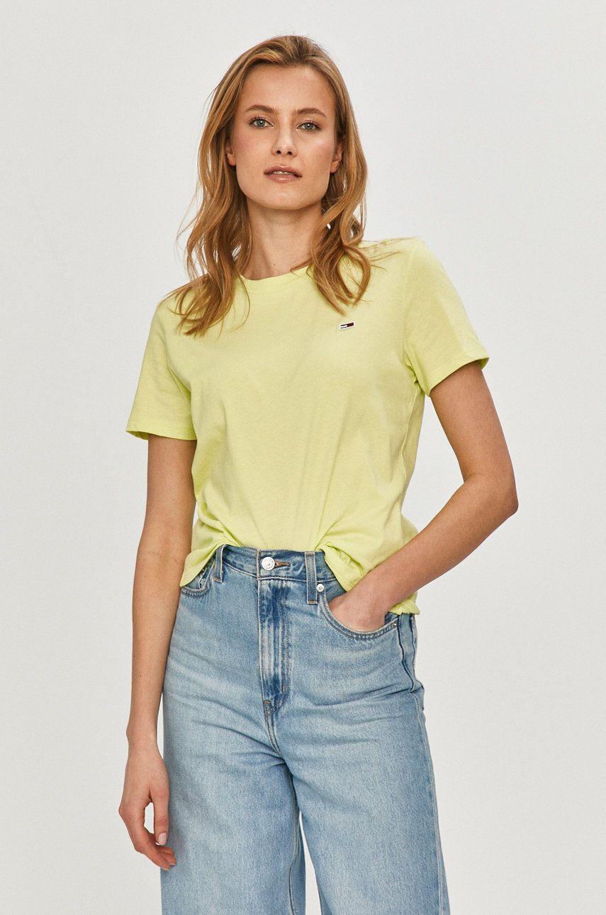 Tommy Jeans - Tricou de la Tommy Jeans
