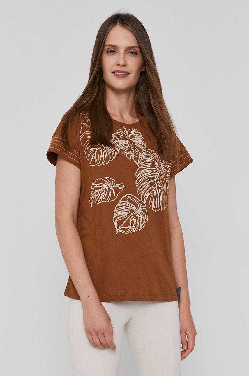 Sisley - Tricou din bumbac