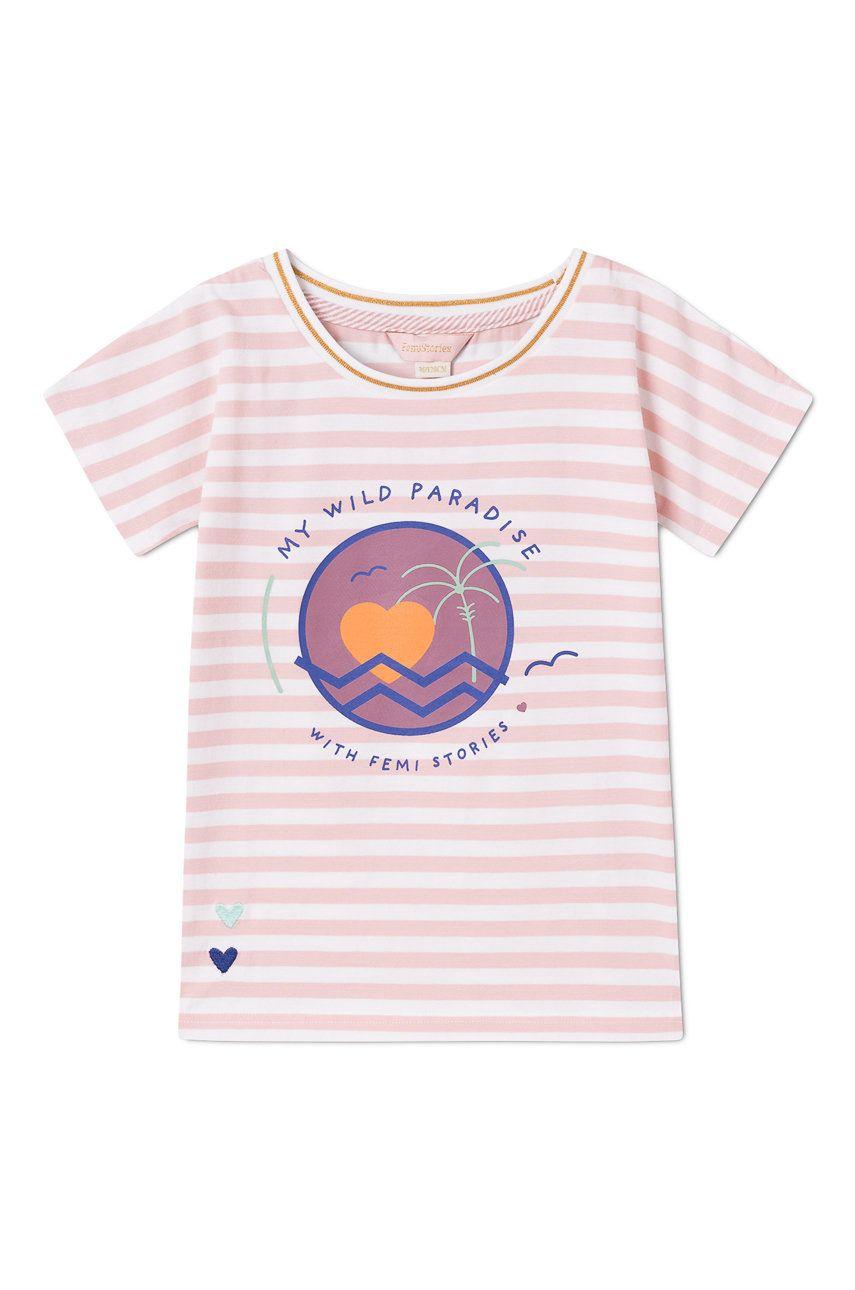 Femi Stories - Tricou copii Muun 116-158 cm imagine answear.ro 2021