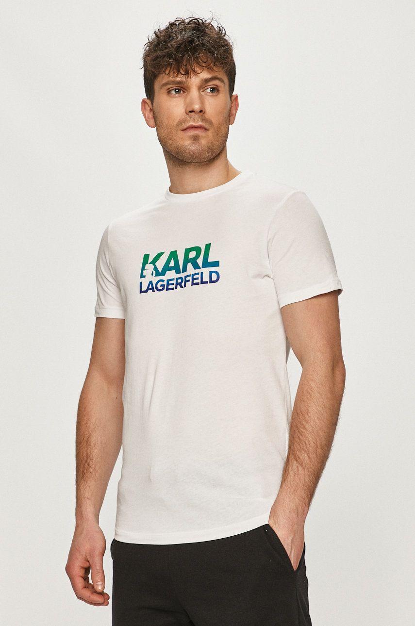 Karl Lagerfeld - Tricou imagine answear.ro 2021