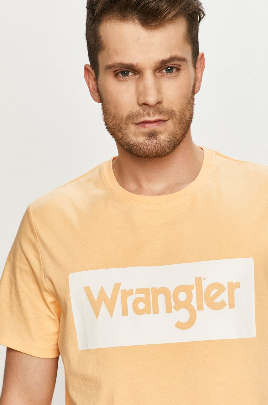 Wrangler - Tricou imagine answear.ro