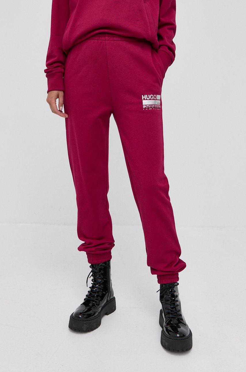 Hugo - Pantaloni de bumbac