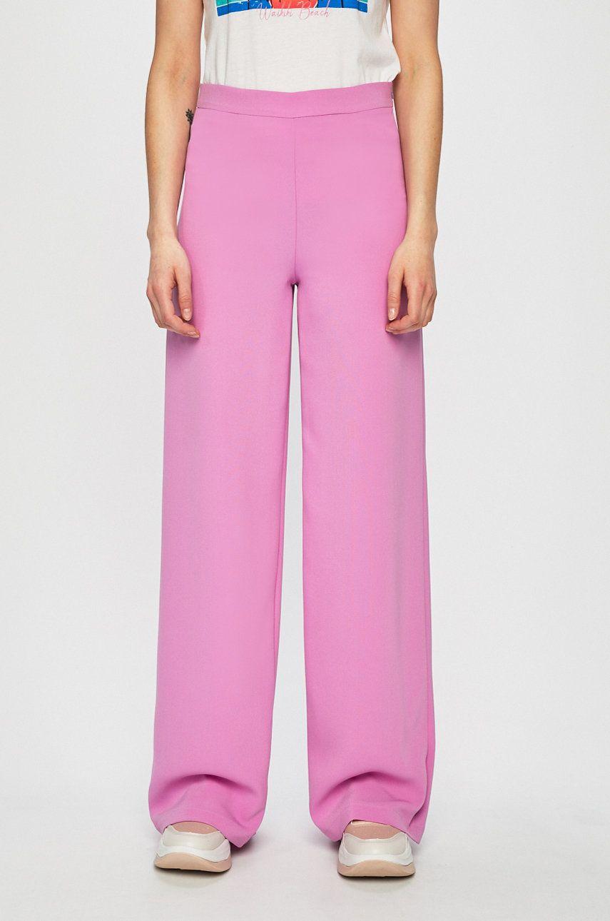 Answear - Pantaloni Violet Kiss