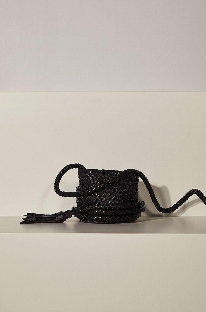 Answear - Curea de piele answear.LAB limited collection imagine answear.ro