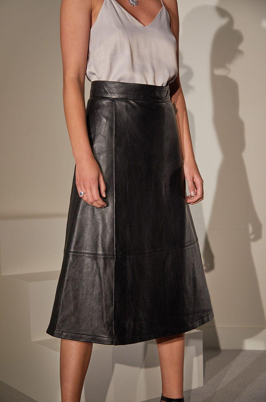 answear.LAB limited collection - Fusta de piele