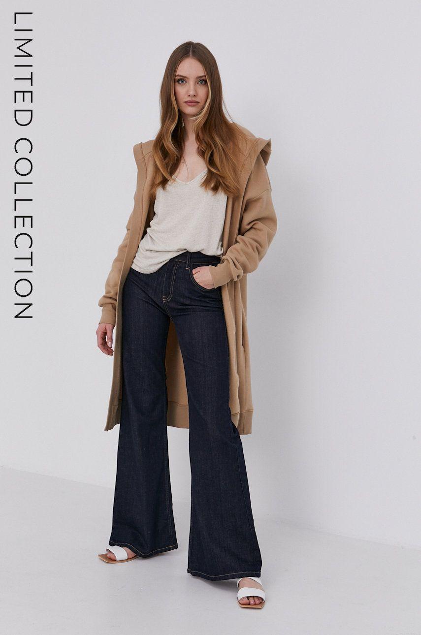 Answear Lab - Bluza cu certificat OEKO din colectia limitata Ethical Wardrobe