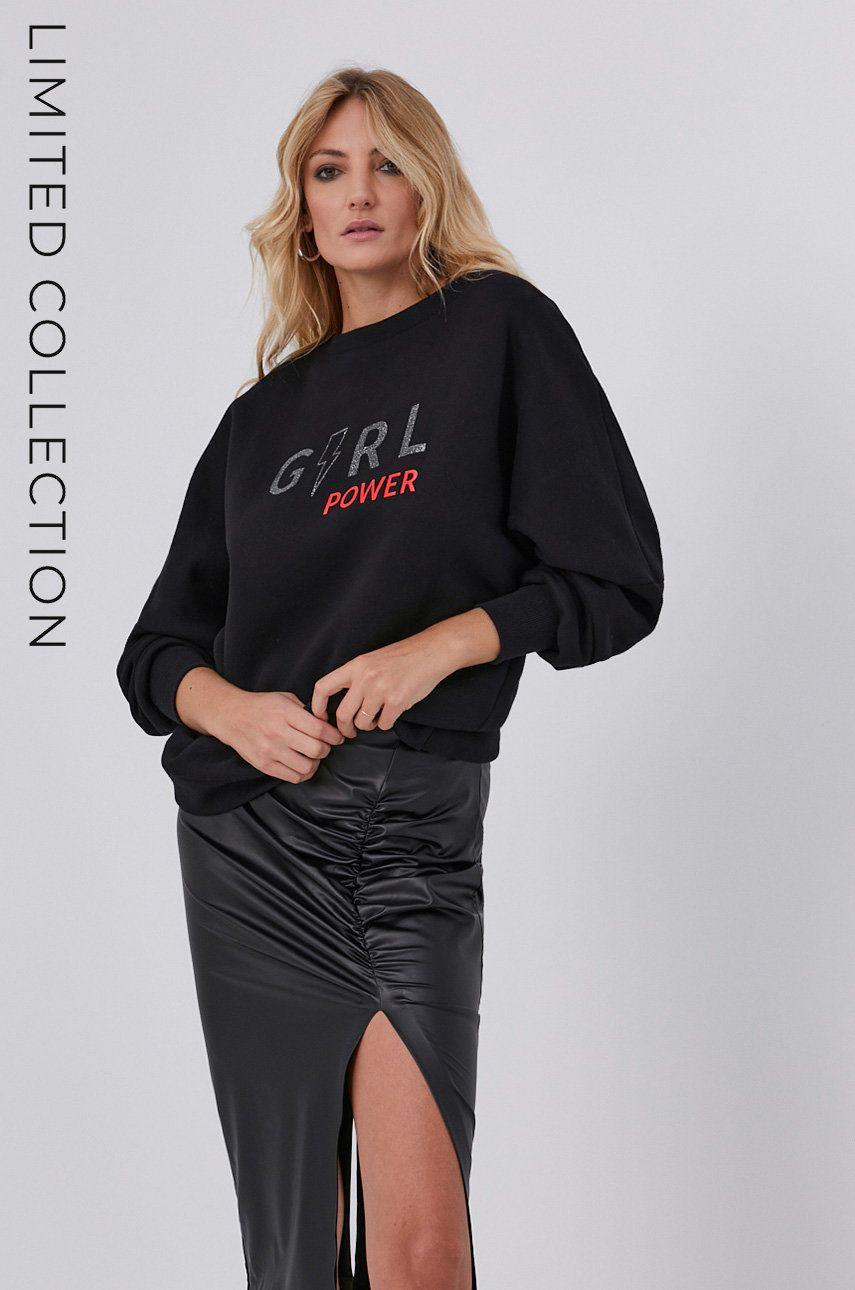 Bluza answear.LAB x colectia limitata GIRL POWER, CERTIFICAT OEKO-TEX si GOTS