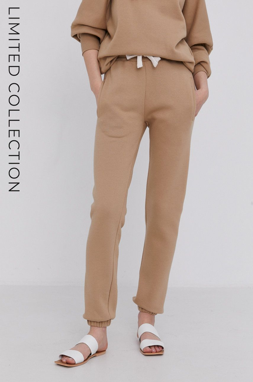 Answear Lab - Pantaloni cu certificat OEKO din colectia limitata Ethical Wardrobe