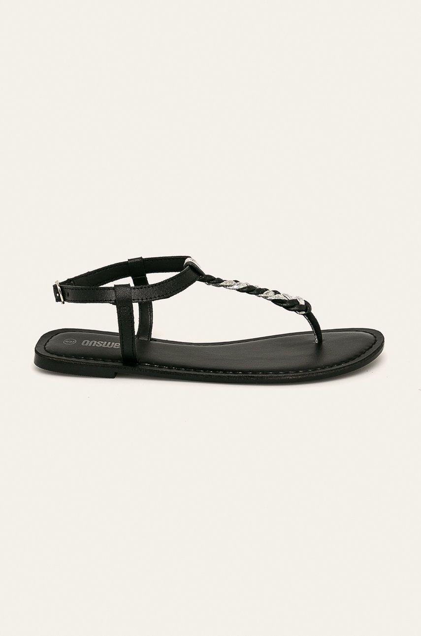 Answear - Sandale de piele poza