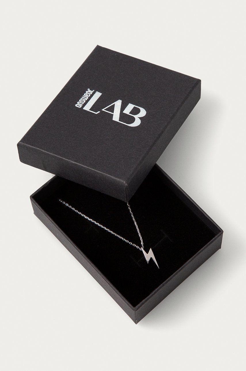 Answear Lab - Strieborný náhrdelník