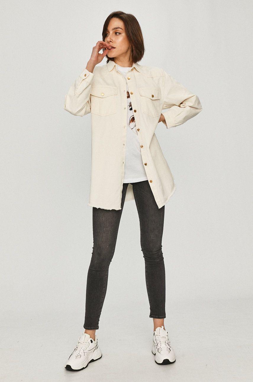 Answear Lab - Camasa jeans imagine