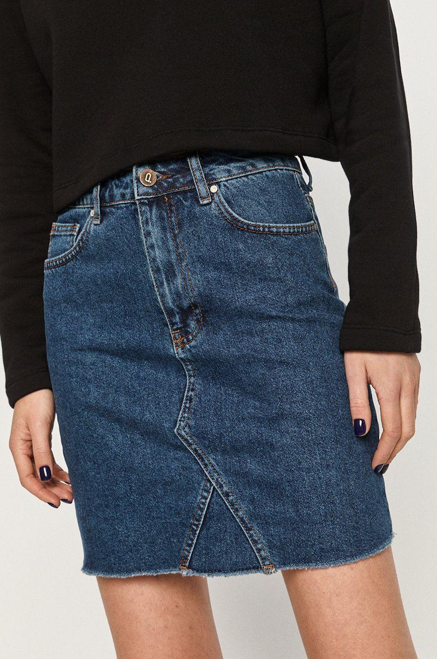 Answear Lab - Fusta jeans imagine
