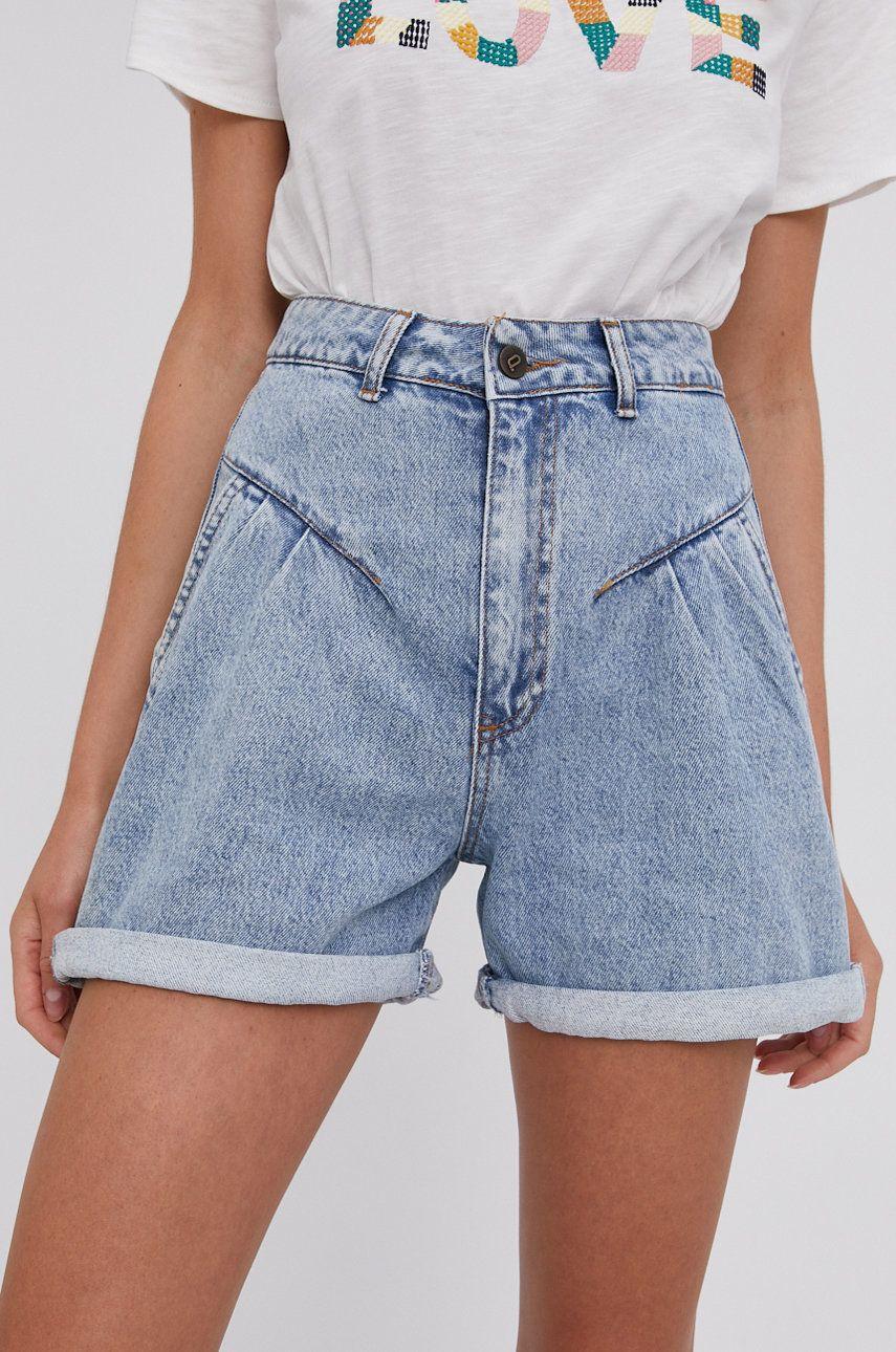 Answear Lab - Pantaloni scurti din bumbac