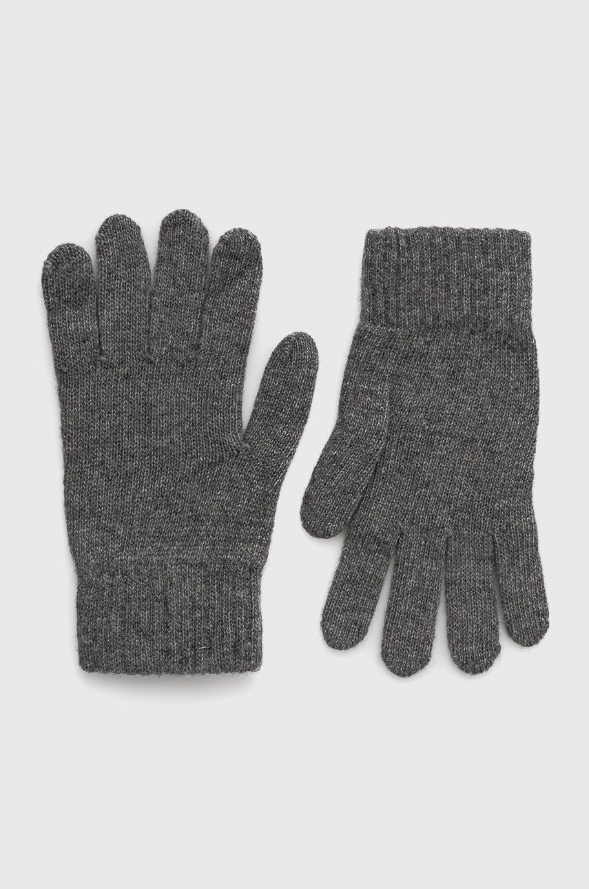 Answear Lab - Lněné rukavice s kašmírem