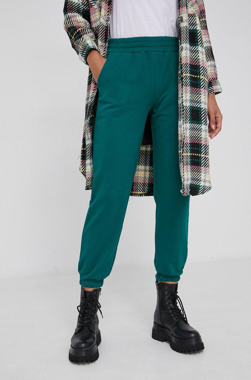 Answear Lab - Pantaloni de bumbac