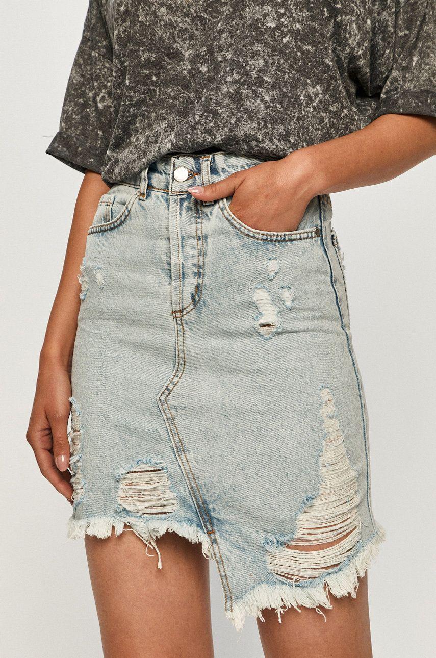 Answear - Fusta jeans Answear Lab